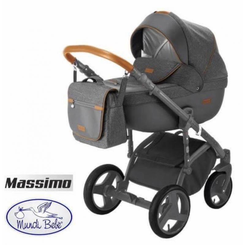Cochecito bebé Massimo de Mundibebe