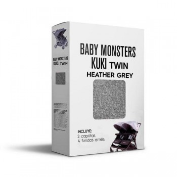 Pack Textil Kuki Twin Baby Monsters