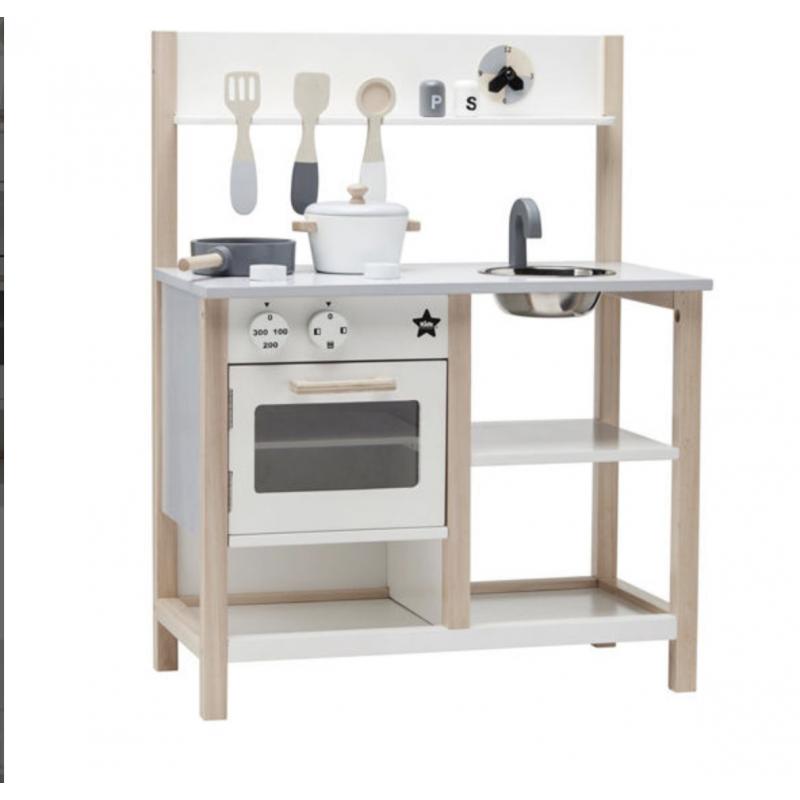 Cozinha de Brinquedo de madeira com acessórios Kids Concept