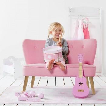 Sofá Infantil Kids Star Grey