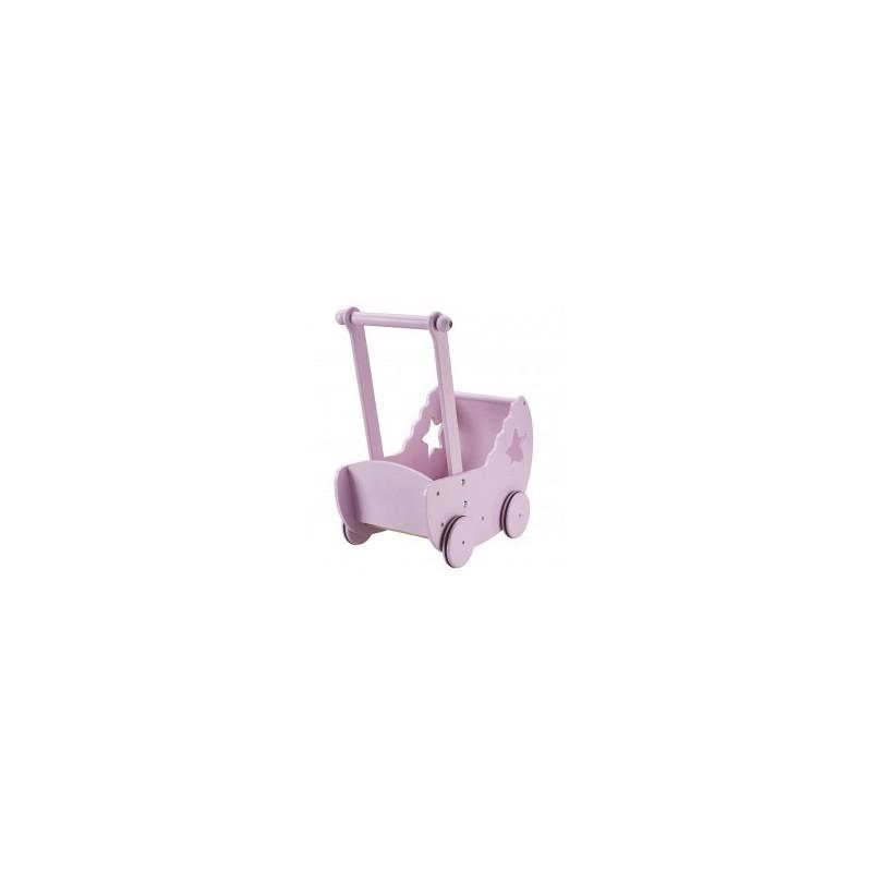 Cochecito para muñecas Madera Star Pink Kids Concept