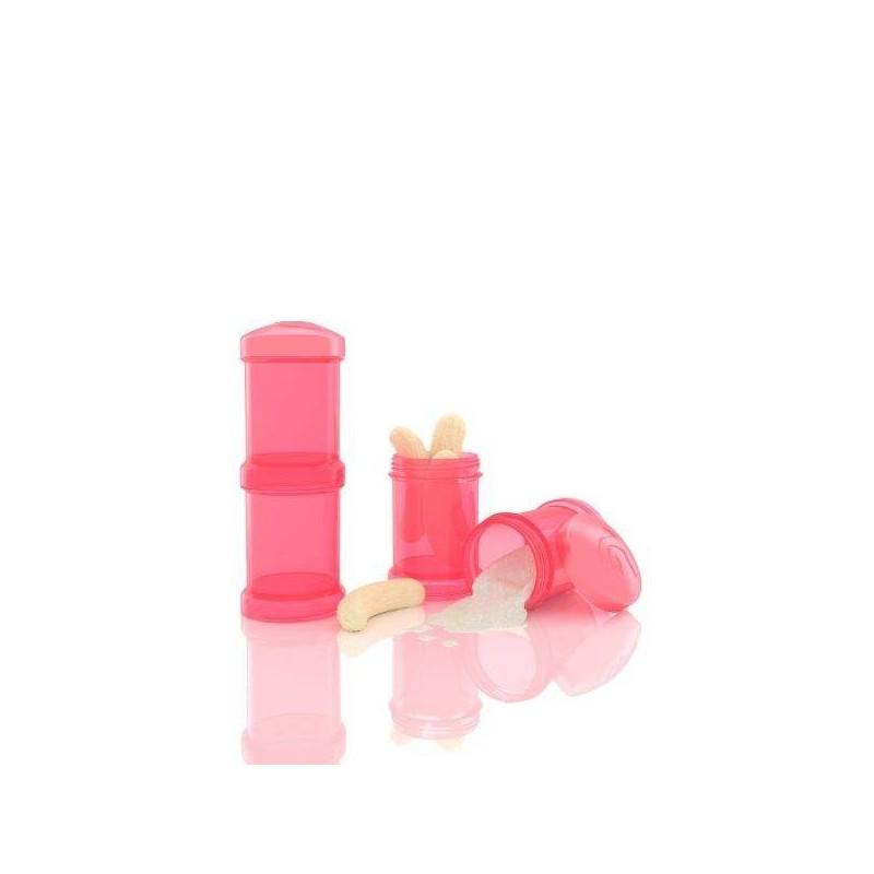Doseador Twistshake 2 x 100 ml Coral