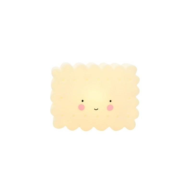 Lâmpada Biscoito Amarela