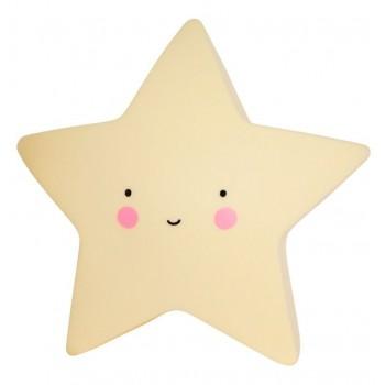 Lámpara Led Estrella Amarillo