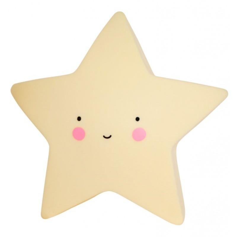 Lâmpada Estrela Amarelo