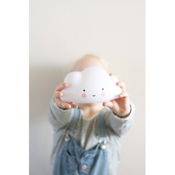 Lámpara Nube Blanco