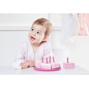 Tarta de Cumpleaños rosa Kids Concept