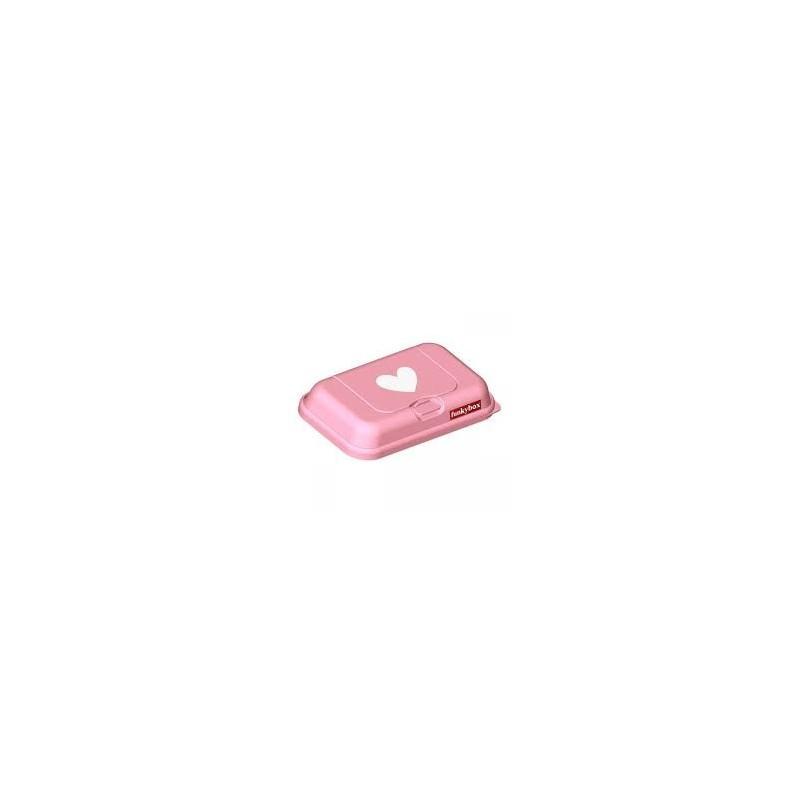 Caja Toallitas FunkyBox To Go Corazón Rosa
