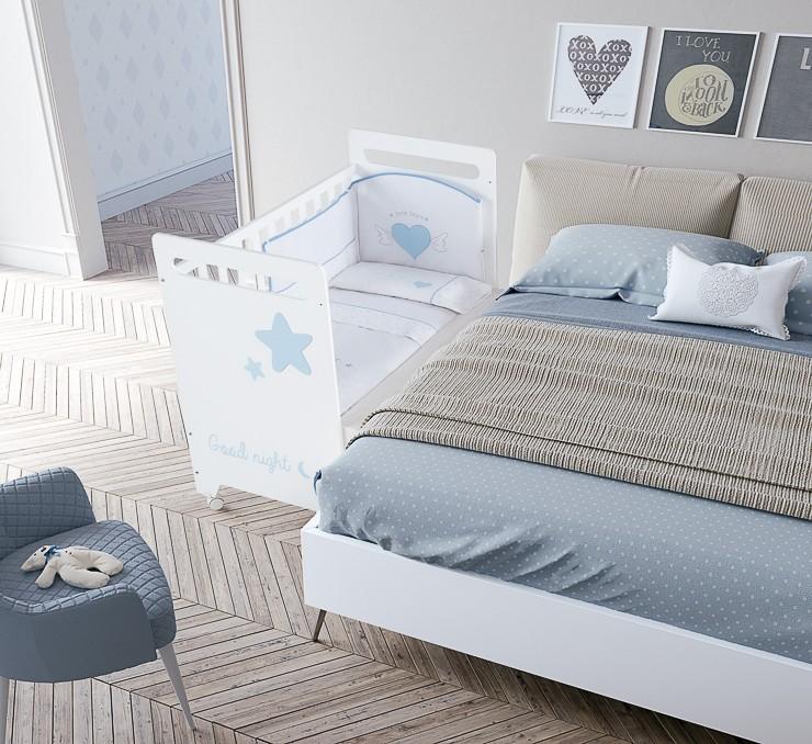 Textil: Ropa de cuna y cama