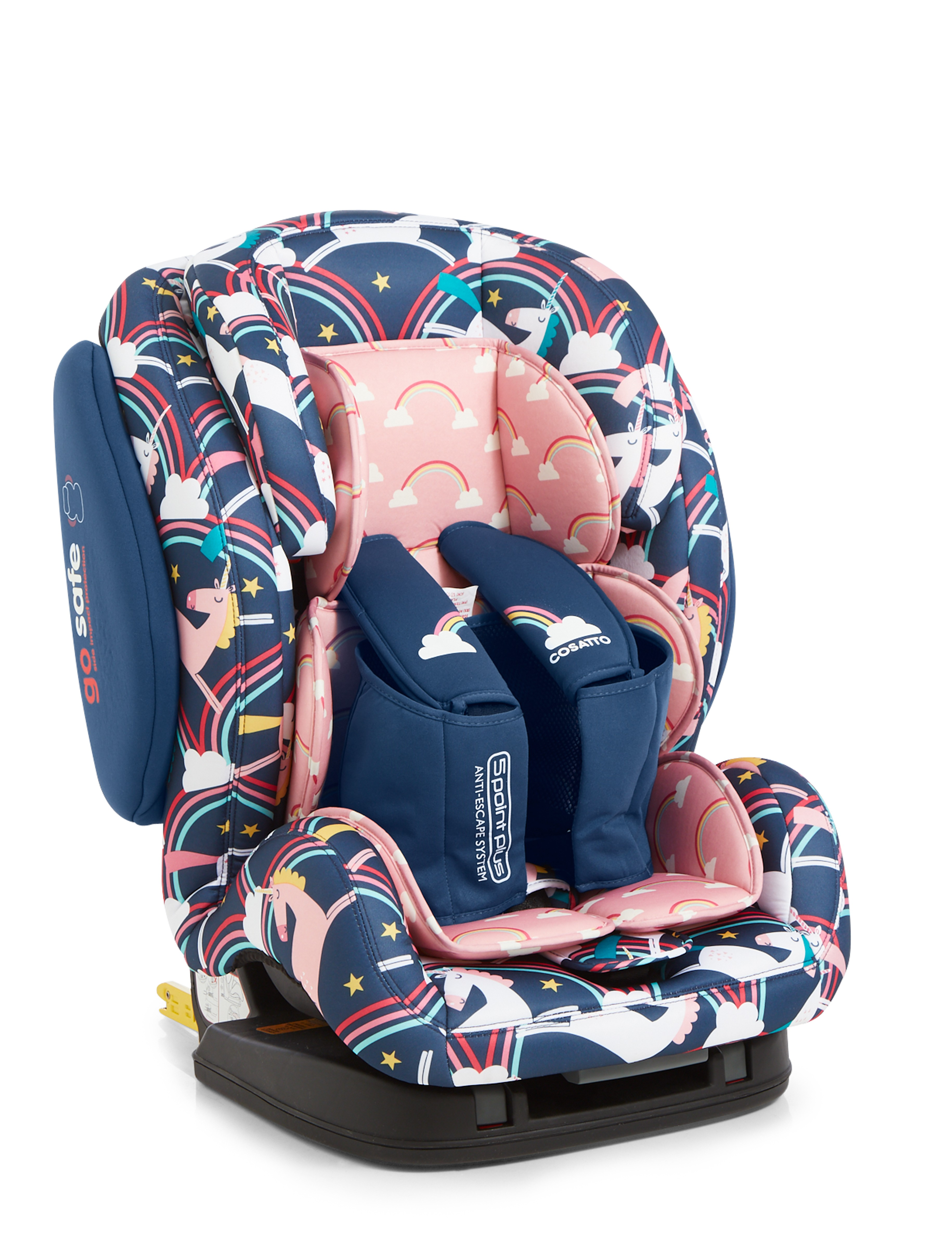 Silla de auto Cosatto Hug Isofix Grupo 1/2/3 Magic Unicorns