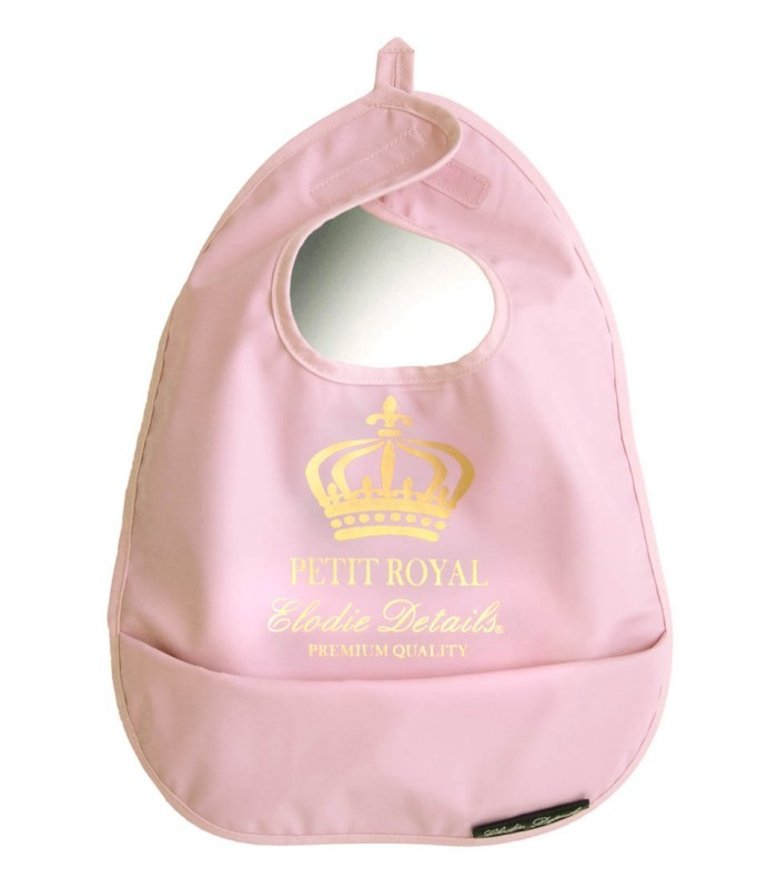 Babero Petit Royal Rosa