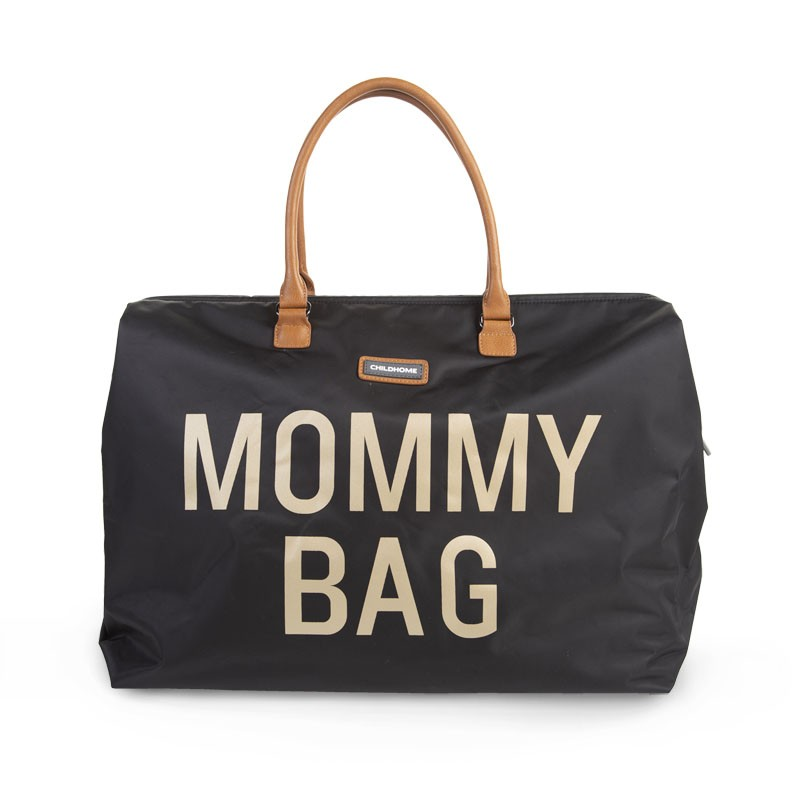 Mommy Bag Negro Oro