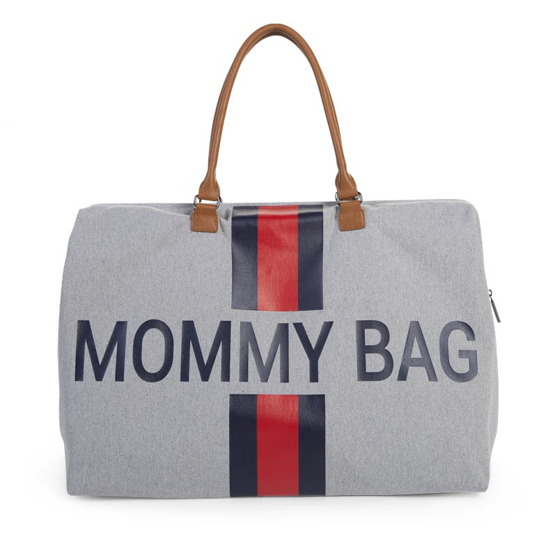 Mommy Bag Canvas Gris