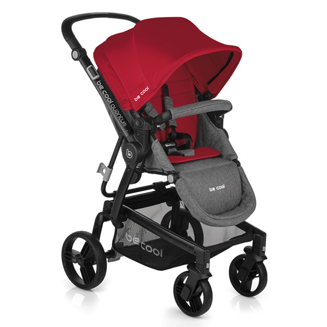 Silla de Paseo Quantum Be Cool Red
