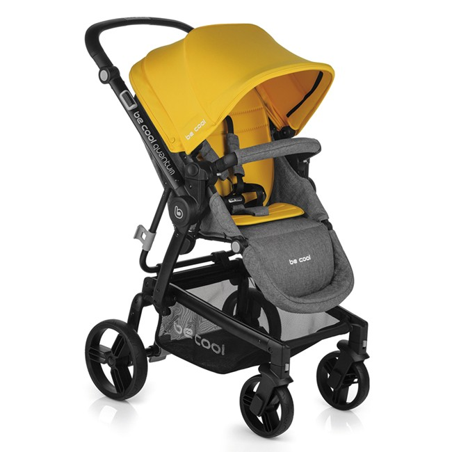 Silla de Paseo Quantum Be Cool Yellow