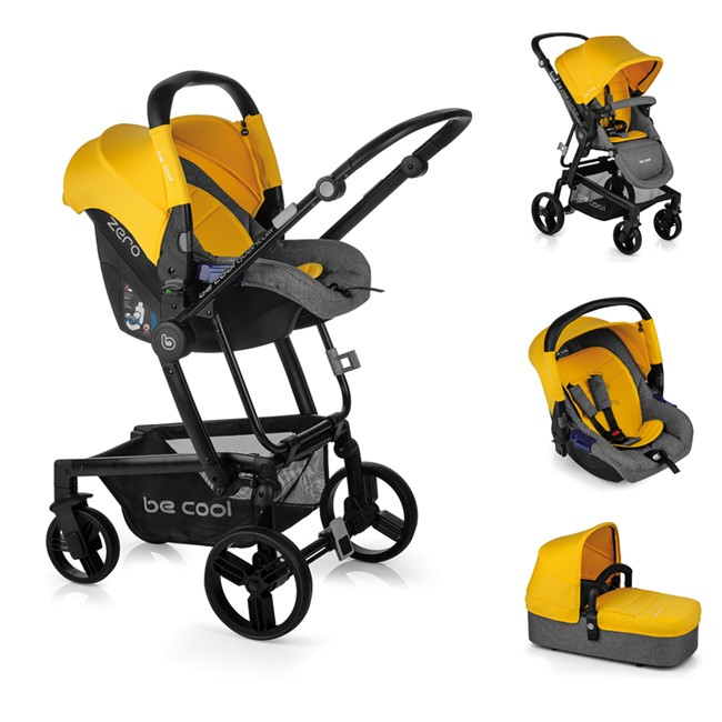 Trío Quantum 3 Top Plus Be Cool Yellow