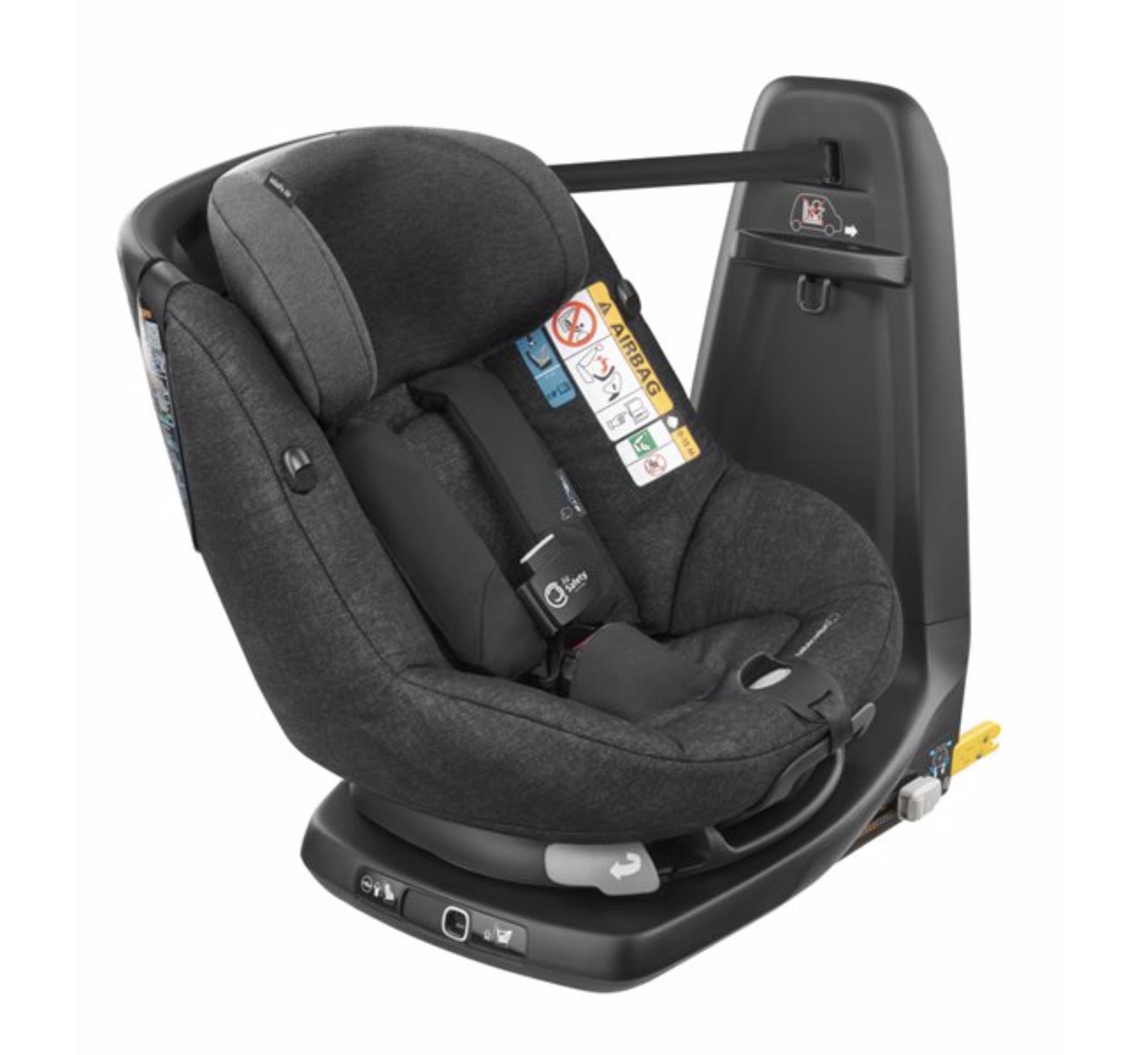 Silla AxissFix Air Bebé Confort Nomad Black