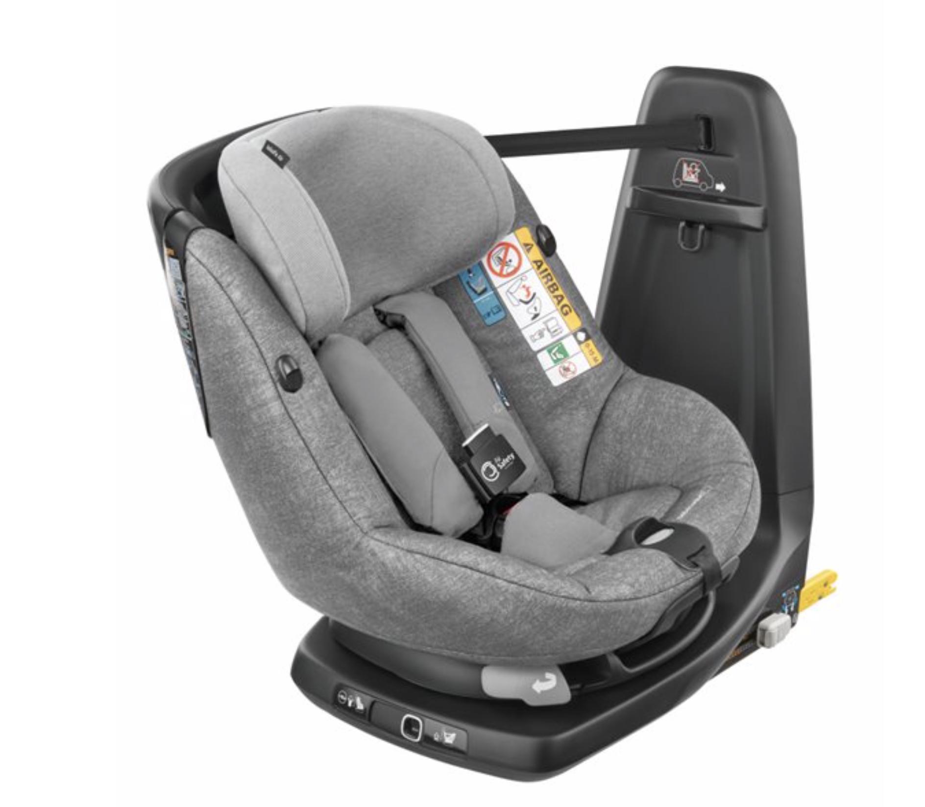 Silla AxissFix Air Bebé Confort Nomad Gray