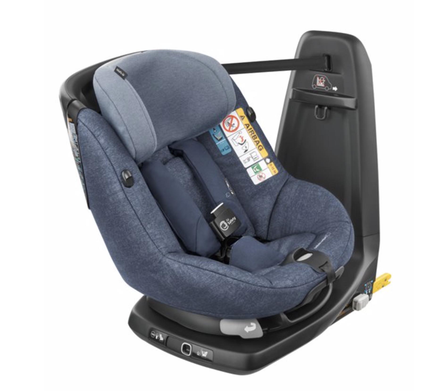 Silla AxissFix Air Bebé Confort Nomad Blue