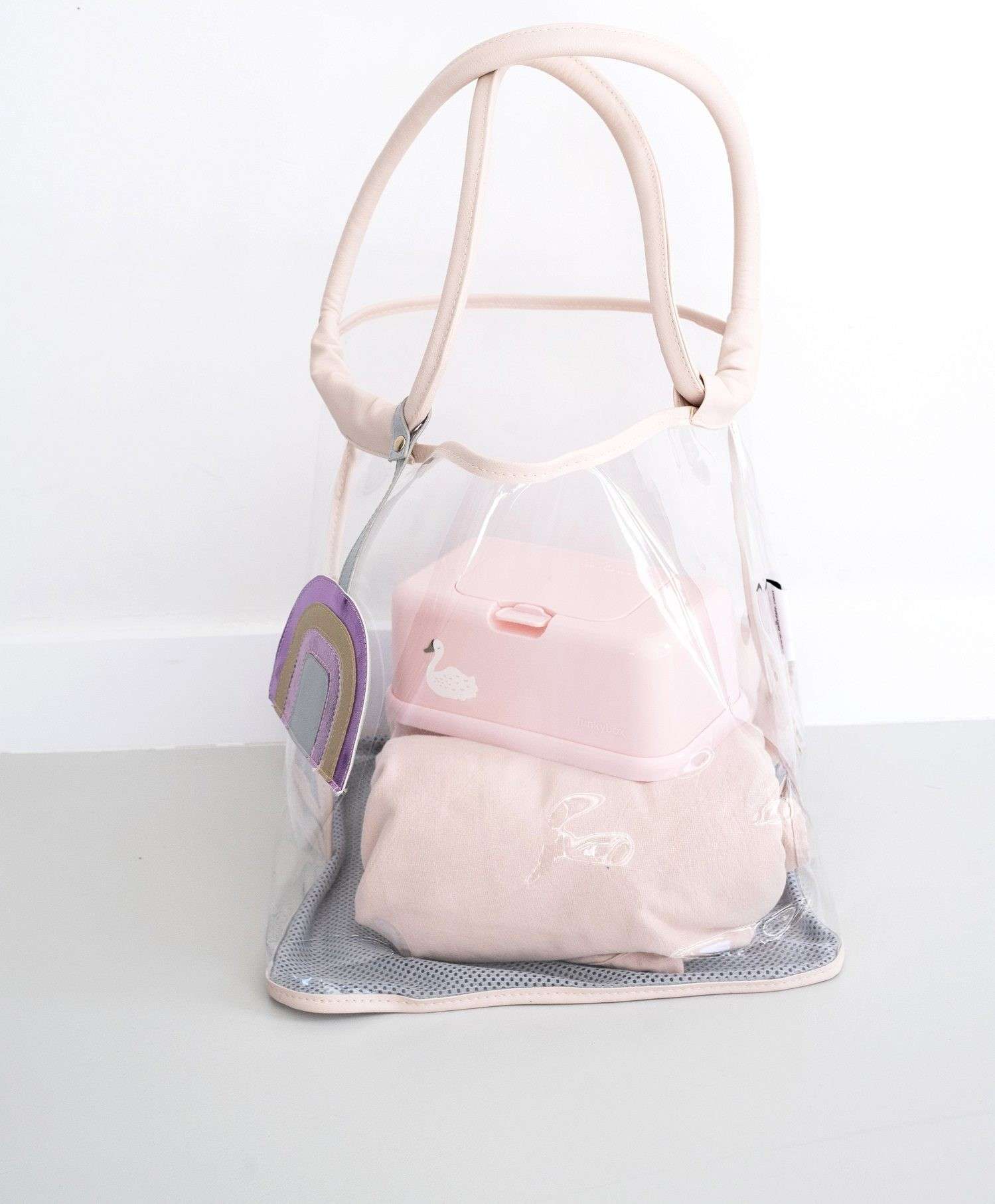Bolso Playa Play and Store Rosa