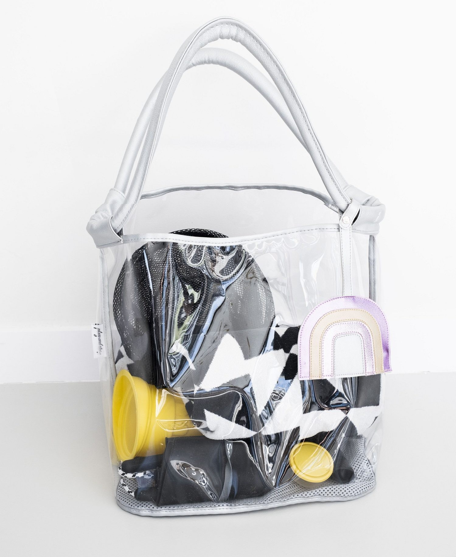 Bolso Playa Play and Store Plata