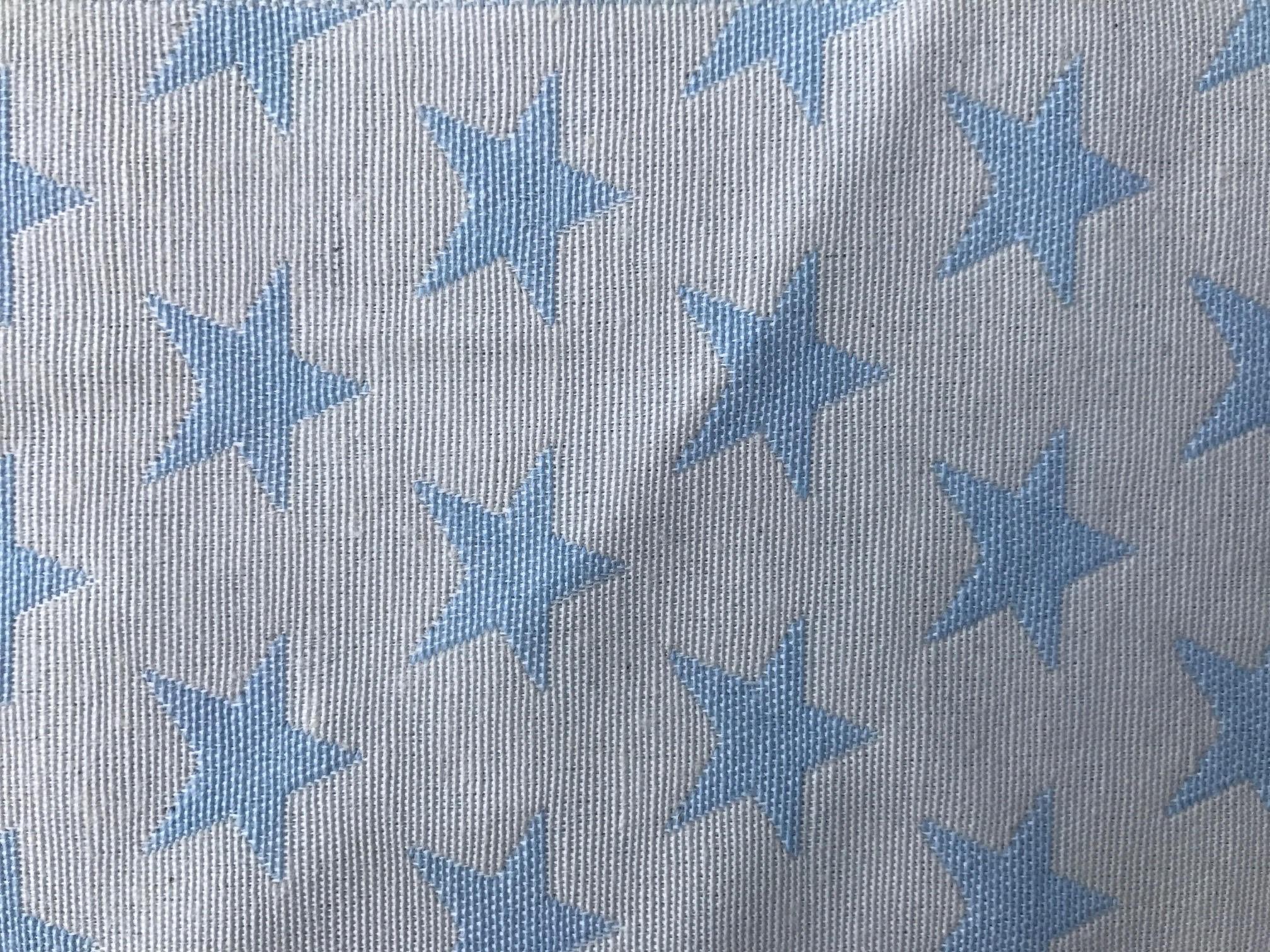 Star Blanco con Azul
