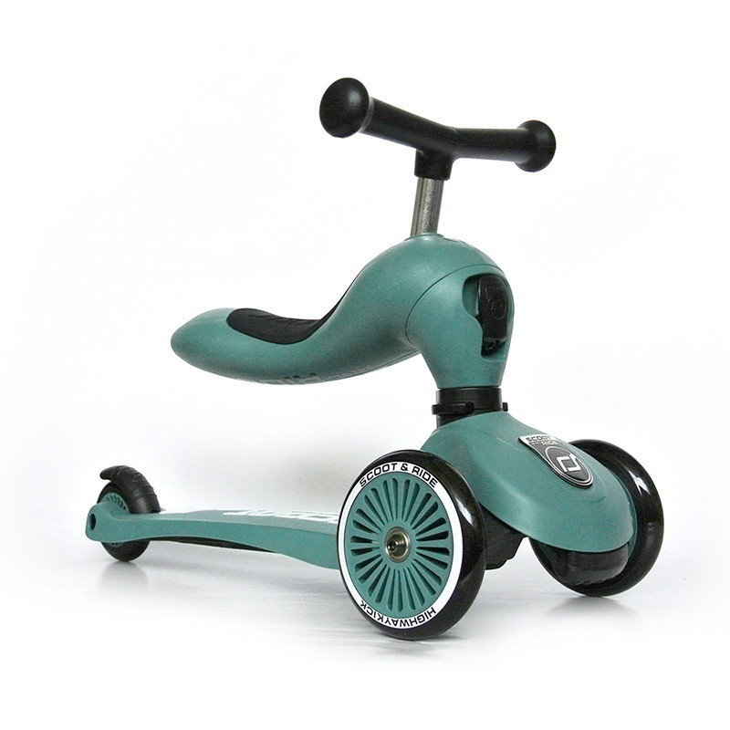 Patinete 2 en 1 Highwaykick One Forest Scoot & Rider