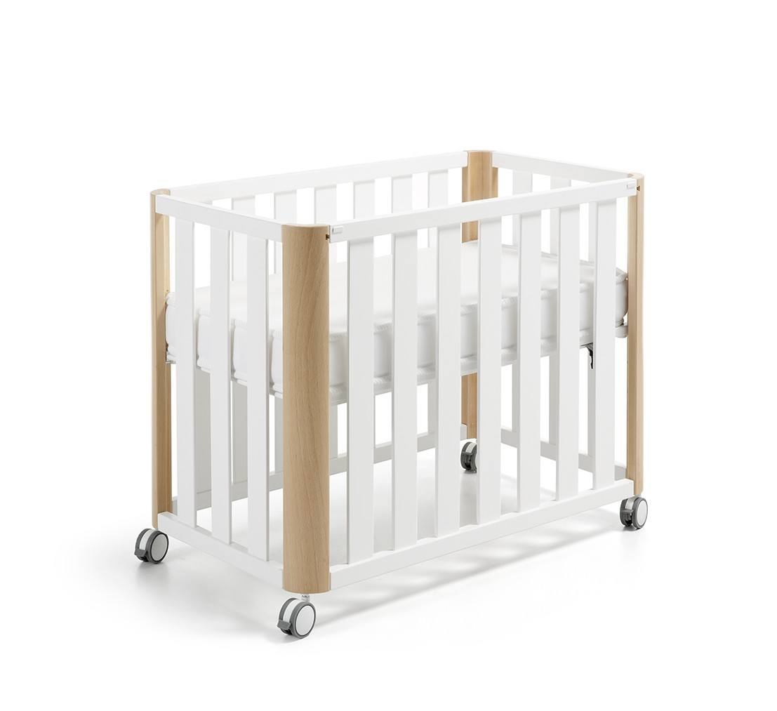 Cuna Colecho Doco Sleeping Blanca/Natural  120×60 Cotinfant