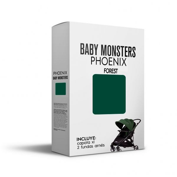 Pack Textil Phoenix Baby Monsters