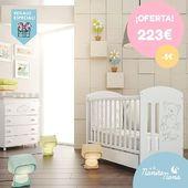 Cuna Sweet Bear Micuna 60x120 en OFERTA! 👏 Esta cuna con un diseño elegante resulta ideal para desearle las buenas noches al bebé. Y además, ahora te regalamos el colchón. 😍  #LaNanitaFamily #Baby #MiCuna #HappyWay #TiendaOnline #TiendaBebés #OnlineShop #regalocolchón #summersales