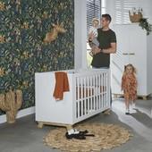 Cuna Veneto de Ikid🧶🧵 Cuna de estilo nórdico con la mayor calidez del hogar.   Disponible la cómoda de la misma línea 'Veneto' en nuestra web.  💙¡¡¡Estamos de rebajas!!!💙  #alananitanana #tiendaonline #puericultura #españa #mamaprimeriza #instababy #instamom #instadad #maternidad #paternidad  #baby #bebe #babyroom