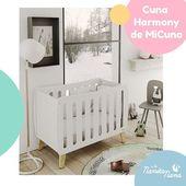 ¿Te gusta la decoración escandinava? Transmite elegancia y paz. La Cuna Harmony de Micuna llena de estilo la habitación de nuestro peque con sus líneas nórdicas naturales. 🌸🌸 #LaNanitaFamily #Baby #Micuna #Cunas #TiendaOnline #TiendaBebés #OnlineShop
