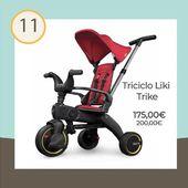 🎁 Calendario Adviento 2019 🎁 ⠀ ¿Sabías que el triciclo Liki Trike S1 Ultracompacto de Nikidom se pliega en 3 segundos? Por ser Navidad, hoy tiene un descuento especial. Desde los 10 meses hasta los 4 años👈 🤶 ⠀ Del 1 al 25 de diciembre tendréis una sorpresa diaria en nuestra web🎄💕! ⠀ #Navidad #RegalosNavidad #Regalos #Baby #Triciclo #Nikidom