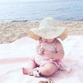 Nuestros babys empiezan a irse de vacaciones. Feliz Domingo!! 💗🐚 Nossos bebês começam a sair de férias. Bom domingo!! 💗🐚 #lananitafamily #baby #montessori #summertime #happy #love #instastyle #instababy #babycute #lojaonline #crianças