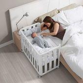 """Minicuna DOCO Sleeping de Cotinfant💙 Diseñada para que tu bebé la pueda disfrutar hasta los 12-15 meses. ¿Qué significa esto? Un producto con más uso y así optimizar su aprovechamiento✅. ⠀ ¿Conoces la práctica """"colecho""""? Se trata de una práctica familiar donde los bebés duermen con sus papis. Esta minicuna de @cotinfant te da la opción para ello🥰 ⠀ Producto etiquetado en la imagen. ⠀ ⠀ #alananitanana #tiendaonline #cotinfant #colecho #yomequedoencasa #instababy #instamom #instadad #embarazo #maternidad #paternidad #embarazados #docosleeping"""