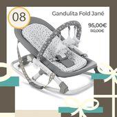🎁 Calendario Adviento 2019 🎁 ⠀ Hoy en nuestra web tenemos promoción especial en la Gandulita FoldJané modelo Star. Ultraligera y con respaldo regulable: dormir, descansar o jugar🤶 ⠀ Del 1 al 25 de diciembre tendréis una sorpresa diaria en nuestra web🎄💕! ⠀ #Navidad #RegalosBebés #Regalos #Baby #GandulitaJane #GandulitaFold