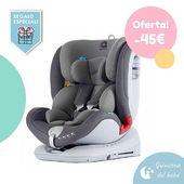 En oferta y con regalo extra!! 👏😘 La silla All Stage de Apramo es una silla que se adapta a todas las edades del bebé, apta desde el nacimiento hasta los 36 kg (12 años aprox.), con isofix y sistema de rotación que permite una cómoda colocación del bebé. Y de regalo...una botella térmica! https://bit.ly/2oNGInu  #Quincenadelbebé #promociones #LaNanitaFamily #Baby #AllStage #HappyWay #TiendaOnline #TiendaBebés #OnlineShop
