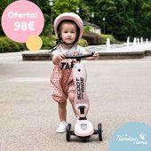 El nuevo Patinete Highwaykick One 2 en 1 de Scoot and Ride es el compañero ideal para niños de 1 a 5 años. ¡¡¡¡Patinetes molones para pequeños riders!!!!😍 #LaNanitaFamily #Baby #Patinete #ScootRide #TiendaOnline #TiendaBebés #OnlineShop