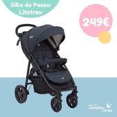 La silla de paseo Litetrax 4 de Joie es una silla moderna, perfecta para la comodidad del bebé y con un plegado facilísimo para los papis. 👏 #LaNanitaFamily #Baby #TiendaOnline #TiendaBebés #OnlineShop #Joie #Litetrax4 #SilladePaseo