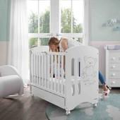 Enamórate de la cuna Sweet Bear de @micuna_es 💙  Una cuna cuyo material es la madera de haya de primer calidad. Diseño elegante y muy tierno,con el lateral abatible y con dos posiciones para el somier😊. ⠀ ¡Ah! Y a los clientes de #alananitanana os ofrecemos de regalo un colchón de cuna por la compra de esta maravillosa cunita para nuestros bebés. ⠀ ⠀ #alananitanana #tiendaonline #babyroom #babyroomideas #micuna #embarazadas