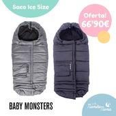 El saco Evolutivo Ice Size de Baby Monsters es ideal para los fríos ❄️días de invierno que se acercan! Además es compatible con cualquier cochecito de bebé 😍 #BabyMonsters #sacoIceSize #LaNanitaFamily #Baby #TiendaOnline #TiendaBebés #OnlineShop