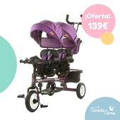 Este triciclo gemelar Apolo de Chipolino es ideal para pasear con los peques. 😍😍 ¡Diversión asegurada! Apto para gemelos o niños dentro del rango de edad desde el año hasta los 5 años. Échale un vistazo: https://bit.ly/31oAiJK #LaNanitaFamily #Baby #TiendaOnline #TiendaBebés #OnlineShop