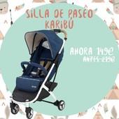 ⭐Hasta el 60% DTO en las mejores marcas durante 15 días⭐  La silla de paseo Karibú de Nanetty con 70€ de dto en nuestra web.  Ligera y compacta, esta silla incluye una bolsa de transporte, una burbuja de lluvia y un posavasos.   Te enviamos tu pedido en 24/48 horas📦 Enlace en nuestra BIO⬆  #alananitanana #tiendaonline #babyroom #babyroomideas #maternidad #paternidad #embarazo #descuentos #puericultura #octubre #papispower #embarazadas #mybabymonsters #discount #walks #strollers #family #baby #pregnancy #pregnant #love #instamum #silladepaseo #stroller