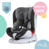 En oferta y con regalo extra!! 👏😘 La silla All Stage de Apramo es una silla que se adapta a todas las edades del bebé, apta desde  el nacimiento hasta los 36 kg (12 años aprox.), con isofix y sistema de rotación que permite una cómoda colocación del bebé. Y de regalo...un set de almuerzo!  #LaNanitaFamily #Baby #AllStage #HappyWay #TiendaOnline #TiendaBebés #OnlineShop