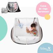En vacaciones de verano ¡llévate todas las comodidades junto a tu bebé!👉 Aeromoov es una cuna de viaje que, a parte de su diseño espectacular, nos ofrece un montón de comodidades.😍 - - #LaNanitaFamily #Baby #CunaViaje #TiendaOnline #TiendaBebés #OnlineShop #Cuna #minicuna #Aeromoov