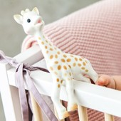 Érase una vez...un juguete único 🦒 Recién llegada desde París para convertirse en el juguete preferido de tu peque. Hecho en caucho 100% natural, su textura suave y masticable ayuda a aliviar las encías doloridas durante el proceso de dentición. ¿Conocías a Sophie la Jirafa?   #alananitanana #tiendaonline #españa #bebes #mamaprimeriza #paternidad #maternidad #padresprimerizos #instadad #instamom #puericultura #sophielagirafe #juguetesinfantiles