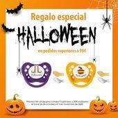 ¡PROMOCIÓN HALLOWEEN! 🦇 Consigue este chupete de la firma Tutete para que tu bebé esté de miedo este Halloween!! 👻🎃Llévatelo de REGALO con compras superiores a 99€, desde hoy, 24 de octubre, hasta el 1 de noviembre. #alananitanana #lananitafamily #mamas #babystyle #tutetelovers  #bebe #baby #chupete #Halloween #promociónHalloween