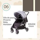 🎁 Calendario Adviento 2019 🎁 ⠀ ¡Promoción especial en nuestra web! La silla de paseo Phoenix Baby Monsters a un precio inmejorable. Cómoda tanto para los bebés como para las mamás y papás🤶 ⠀ Del 1 al 25 de diciembre tendréis una sorpresa en nuestra web🎄💕! ⠀ #Navidad #RegalosBebés #Regalos #Baby #BabyMonsters