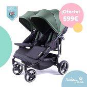 Silla gemelar Kuki Twin en OFERTA! 😍 Se trata de la última novedad de Baby Monsters y la silla gemelar más ligera y compacta del mercado. Y además, ¡¡ahora te regalamos la burbuja de lluvia!! 👏  #LaNanitaFamily #Baby #TiendaOnline #TiendaBebés #OnlineShop