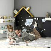 La lectura desde la niñez es otra forma de llamar a la libertad💙📚 Feliz #diainternacionaldellibro ⠀ ¿Qué libros han leído los peques de la casa? ¿Hacemos una lista de lecturas para recomendarnos? ¡Ya no queda nada🥰! ⠀ Pizarra Ros en forma de casita Montessori. Etiquetada en la imagen👆 ⠀ #alananitanana #tiendaonline #babystore #lecturainfantil #montessoriathome #abril #todovaasalirbien🌈